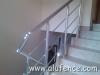 Aluminijumske ogradena stepenštu