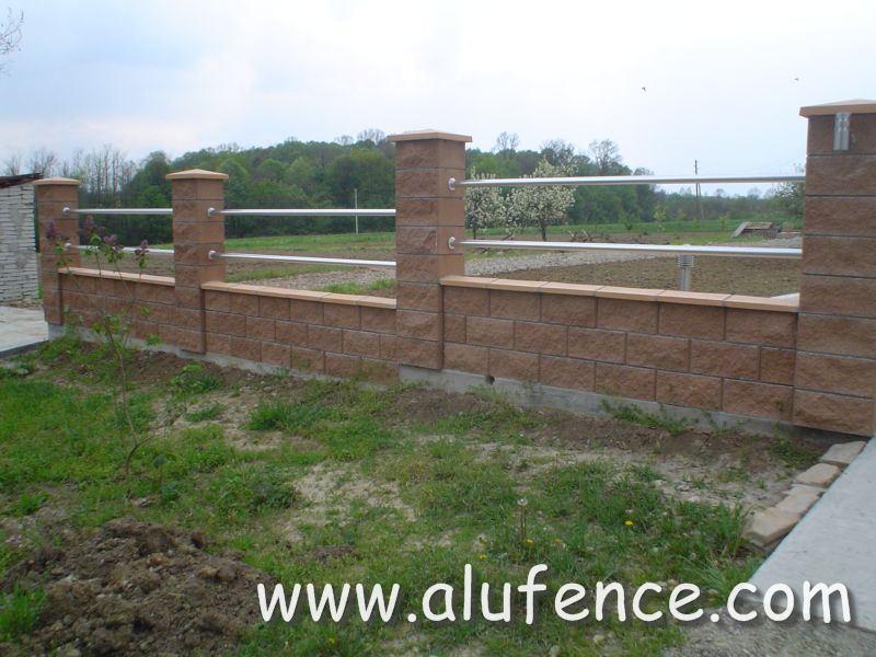 Aluminijumske ograda za dvorišta