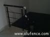 Aluminijumska ograda u crnoj boji
