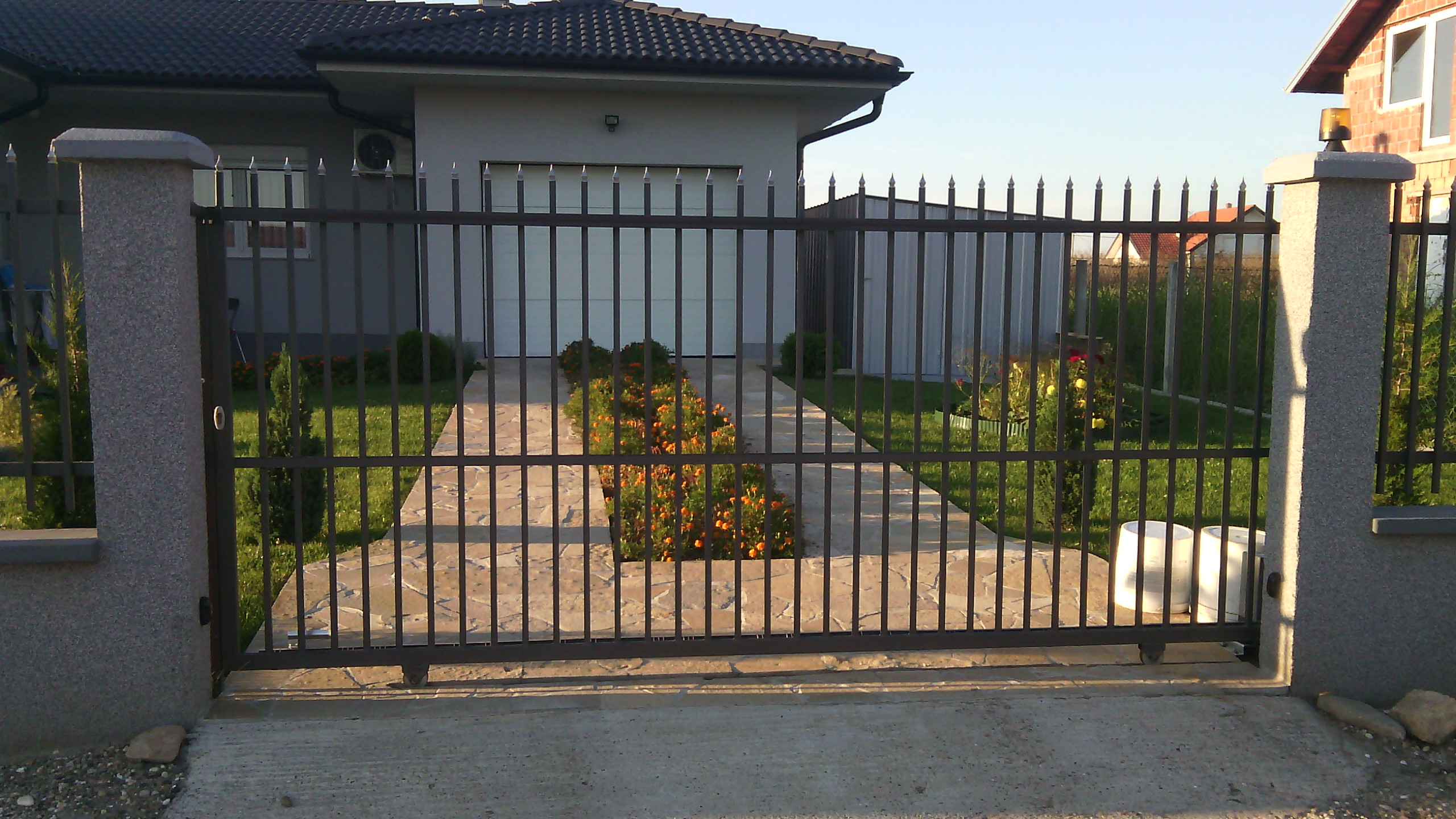 Klizna kapija za dvorište