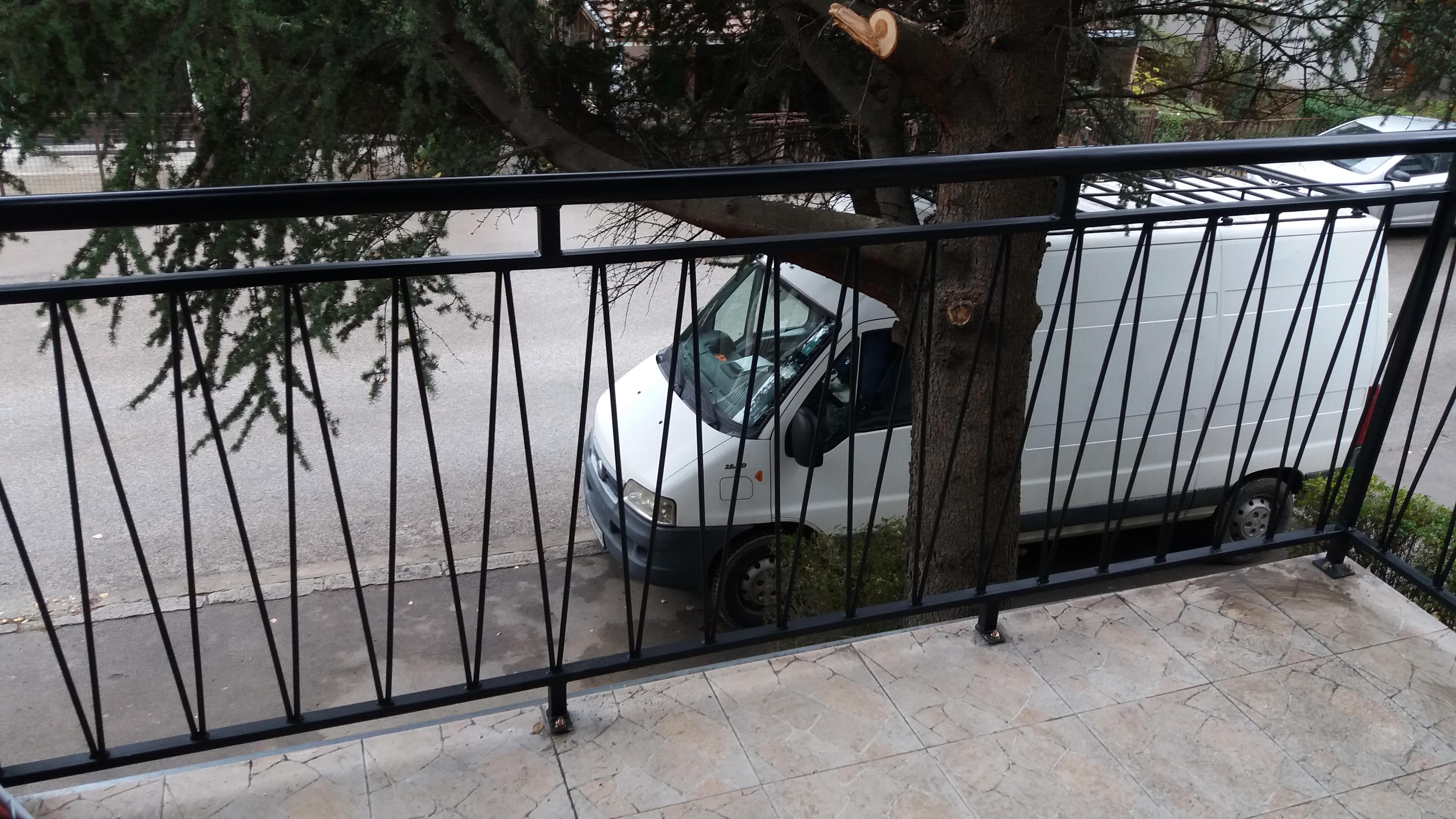 Izrada metalnih ograda za terase Beograd
