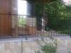 Metalne ograde na terasi