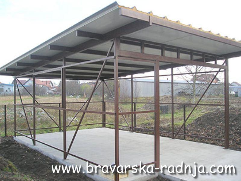 Metalna konstrukcija garaza