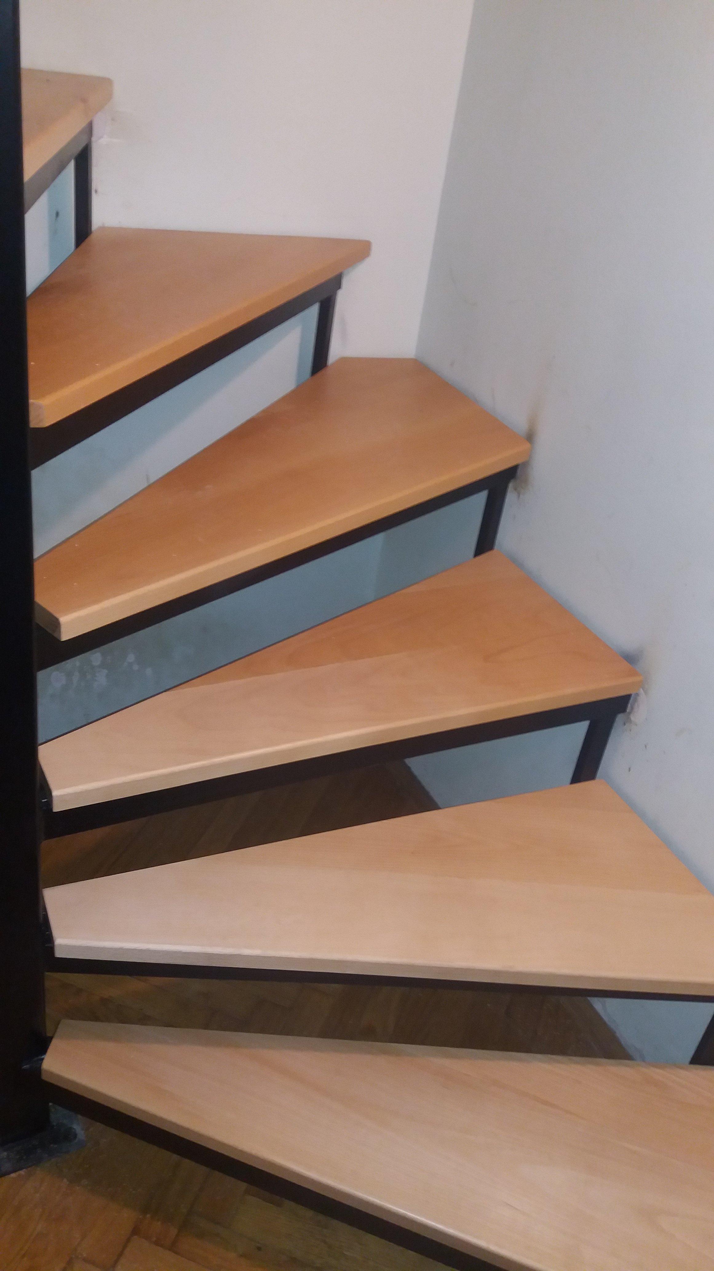 Izrada drvenih gazišta za stepenice