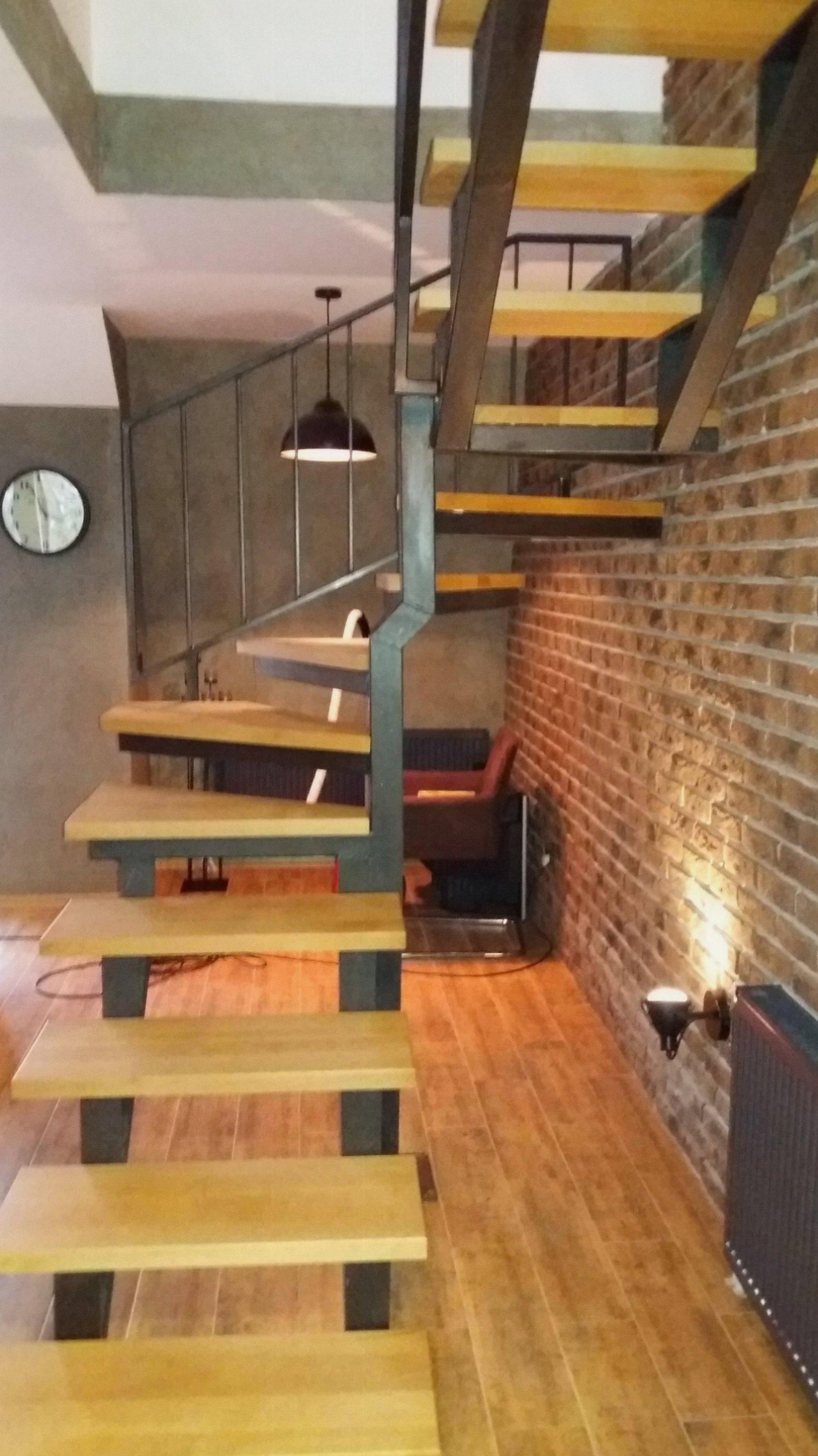 Izrada metalne konstrukcije za stepenice