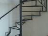 Konstukcija za spiralne stepenice